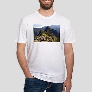 Fitted T-Shirt - Macchu Picchu