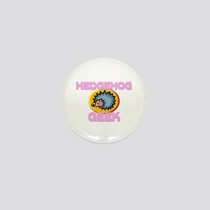 Hedgehog Geek Mini Button