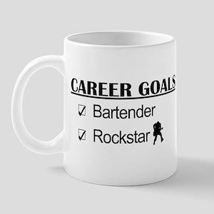 Bartender Career Goals Rockstar Mug
