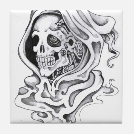 Reaper t shirts and gifts! Tile Coaster