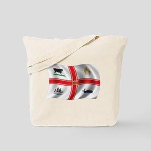 Wavy Melbourne Flag Tote Bag