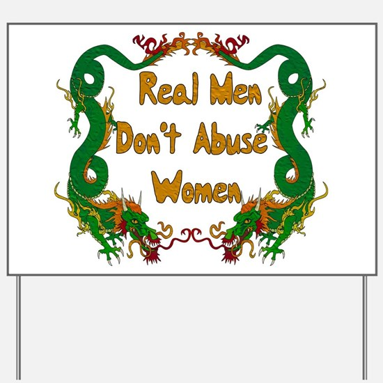 Ending Domestic Violence Yard Sign