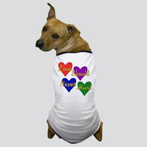 End Domestic Violence Dog T-Shirt
