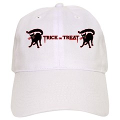 Devil Cat Trick Baseball Cap