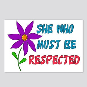 She Who Must Be Respected Postcards (Package of 8)