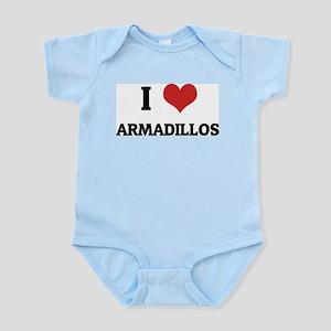 I Love Armadillos Infant Creeper