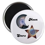 MOON AND STARS Magnet