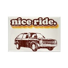 Nice Ride Rectangle Magnet