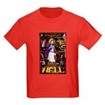 The Mother of God Visits Hell Kids Dark T-Shirt