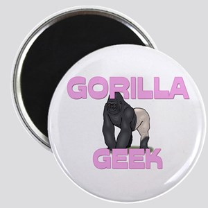 Gorilla Geek Magnet