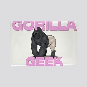 Gorilla Geek Rectangle Magnet