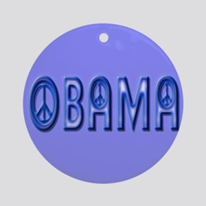 Obama Wants Peace Ornament (Round)