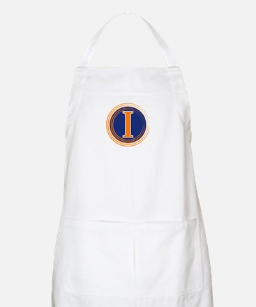 Fighting Illini BBQ Apron