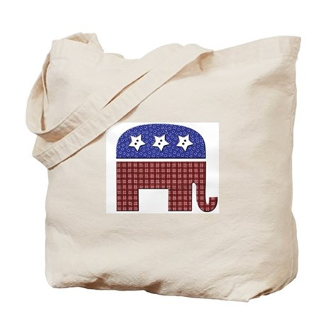 Patchwork Elephant 1 Tote Bag
