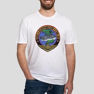 USS BENNINGTON Fitted T-Shirt