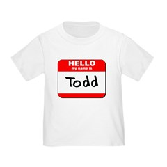 Hello my name is Todd T