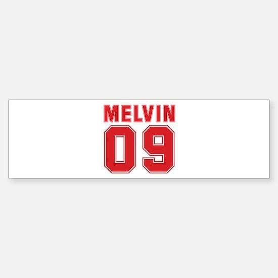 MELVIN 09 Bumper Bumper Bumper Sticker