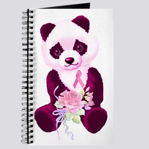 Breast Cancer Panda Bear Journal