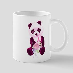 Breast Cancer Panda Bear Mug