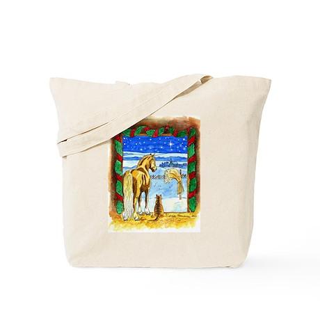 Stable Christmas Tote Bag
