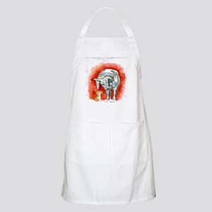 Horse and Cat BBQ Apron