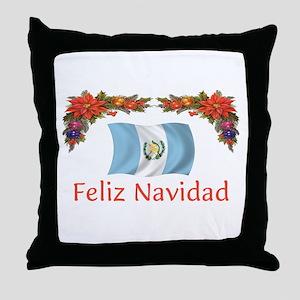Guatemala Feliz... 2 Throw Pillow