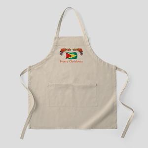Guyana-Merry Christmas BBQ Apron