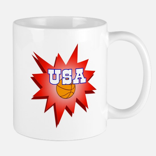 Basketball USA Mug