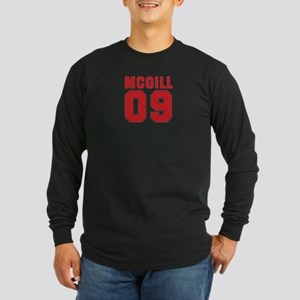 MCGILL 09 Long Sleeve Dark T-Shirt