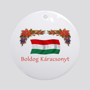 Hungary Boldog...2 Ornament (Round)