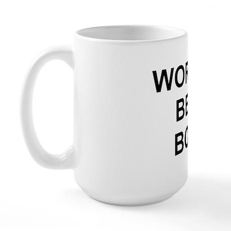 Original World's Best Boss - Large Coffe Mug