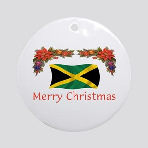Jamaica Merry Christmas 2 Ornament (Round)