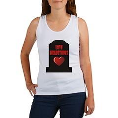 Love Headstones Women's Tank Top