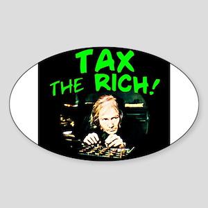Tax the Oval Sticker