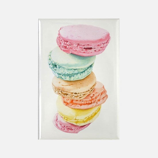 Macaroons Rectangle Magnet (10 pack)