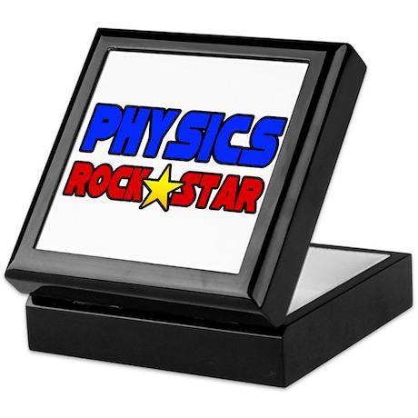 """Physics Rock Star"" Keepsake Box"