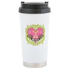 Mother of Twins - Stainless Steel Travel Mug