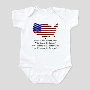 America Usonoland' Infant Bodysuit