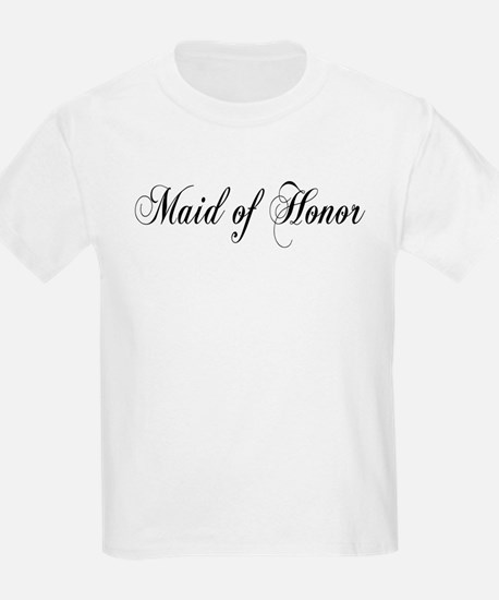 Maid of Honor Kids T-Shirt
