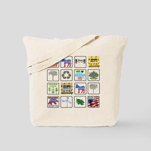 Obama Biden '08 Reusable Canvas Tote Bag