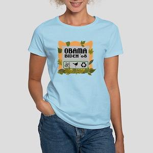 Obama-Biden Peace Women's Light T-Shirt