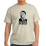 WWRD- What Would Reagan Do? Light T-Shirt