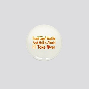 Heaven And Hell Mini Button