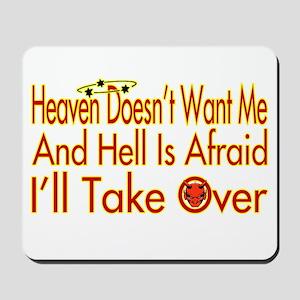 Heaven And Hell Mousepad