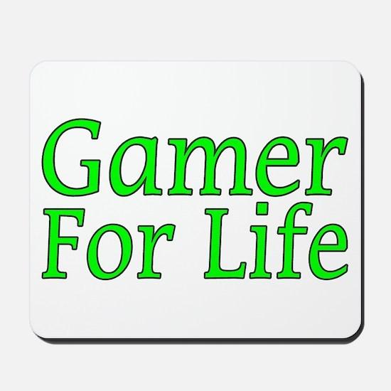 Gamer For Life Mousepad