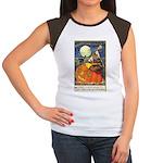Witchcraft Halloween Women's Cap Sleeve T-Shirt