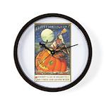 Witchcraft Halloween Wall Clock