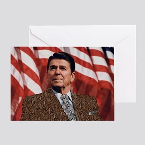 Pimp Reagan Greeting Card
