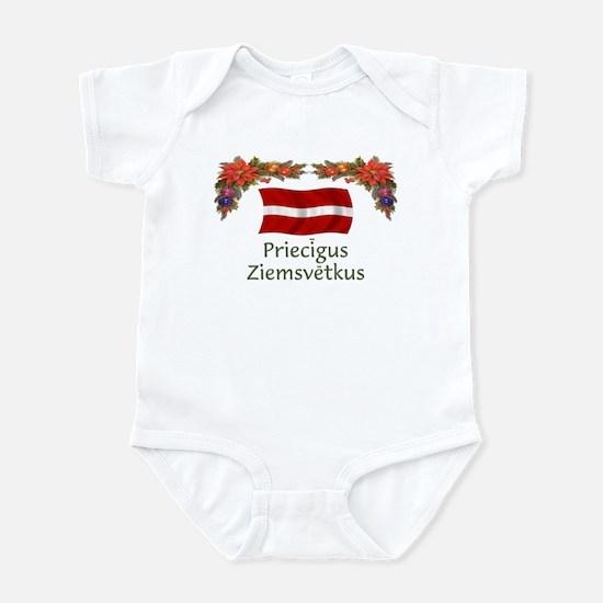 Latvia Priecigus...2 Infant Bodysuit