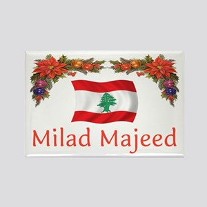 Lebanon Milad Majeed 2 Rectangle Magnet